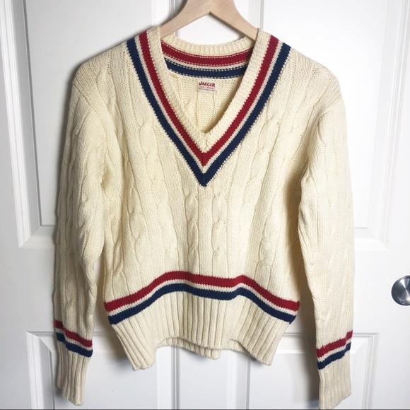 Jaeger Sweaters Vintage Jaeger Wool Vneck Sweater Size Large Poshmark